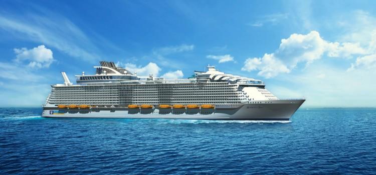 Harmony of the Seas, det nye skipet i Oasis-klassen