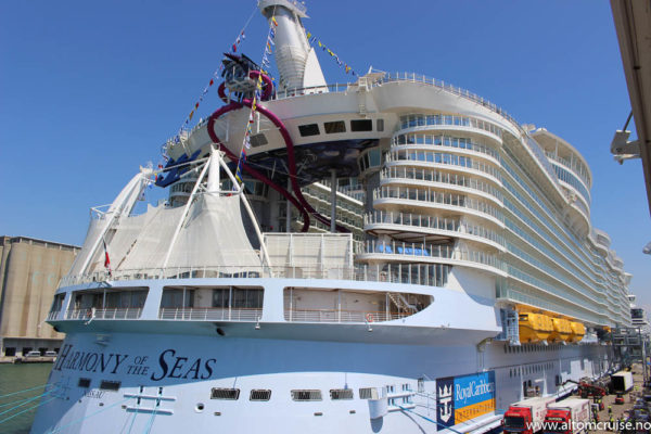 Vi tester Harmony of the Seas